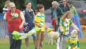 A GRAND DAY OUT AT  HUNSTANTON FUN DOG SHOW