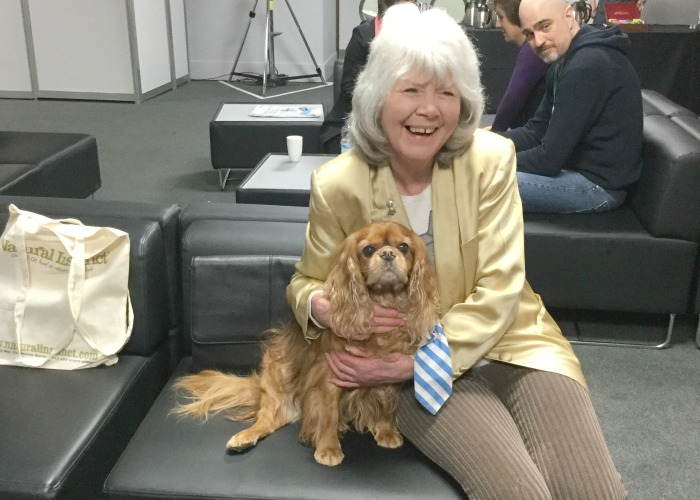 BB Editor, Frodo, with Gilly Cooper