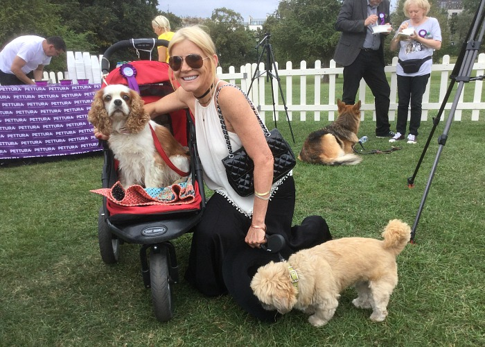 BB Repawter, Gizmo, with Michelle Collins