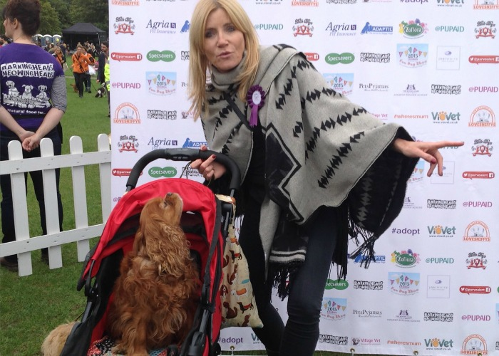 BB Editor, Frodo, with Michelle Collins