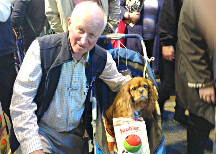 BB Editor, Frodo, with Dr. Roger Mugford