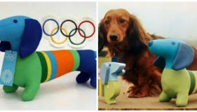 The Dog who was the first Official Summer Olympics Mascot