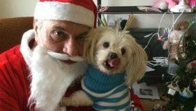 Santa calls in to celebrate Christmas