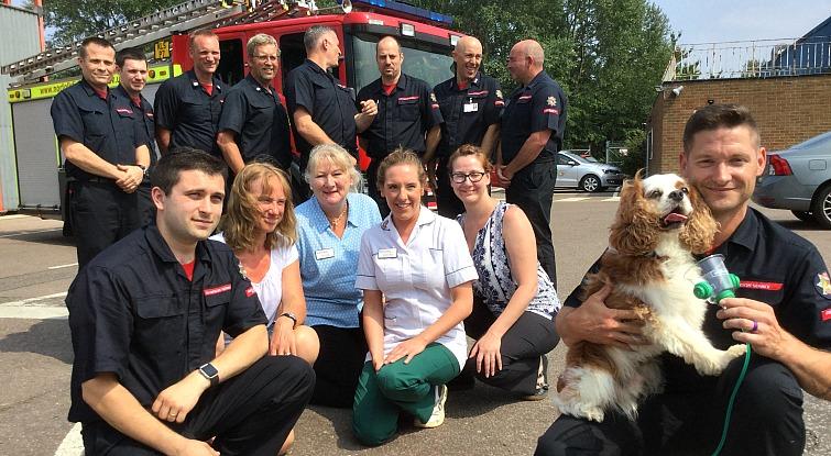 Fund raisingfor King's Lynn Fire Service – a success for pets!