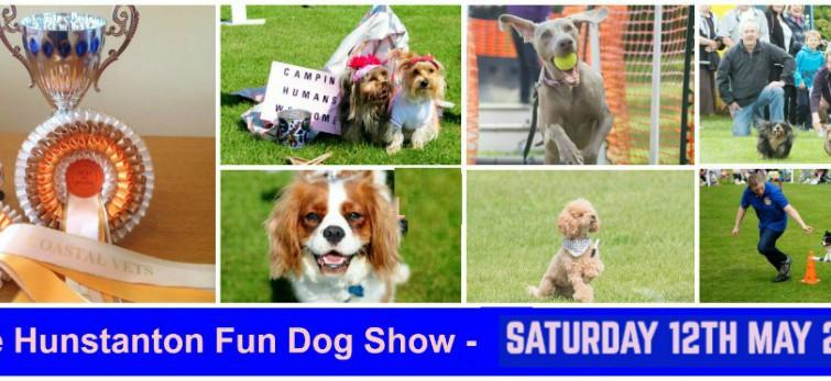 The Hunstanton Fun Dog Show – Saturday 12th May 2018